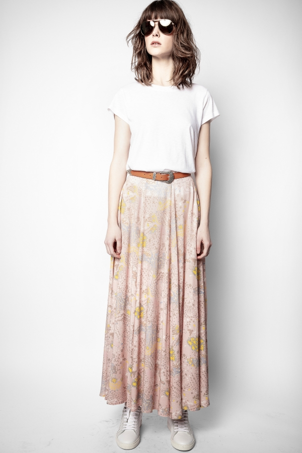 JOYO PRINT GLAM ROCK SKIRT