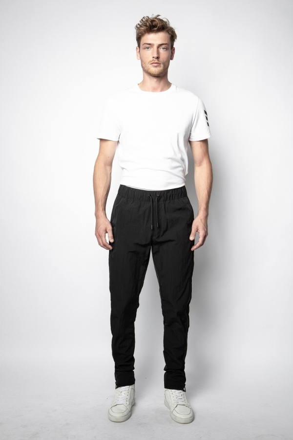 POP NYLON ZIP PANTS