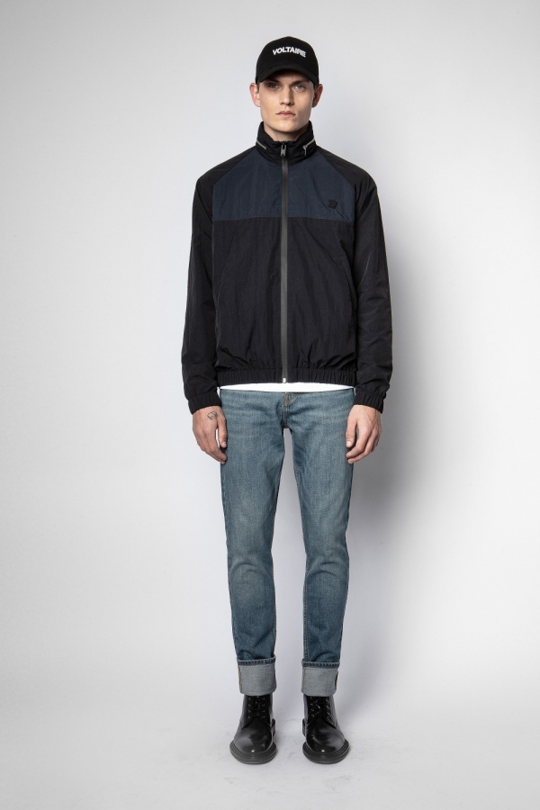 BAZES NYLON WINDBREAKER