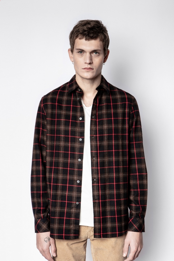 STAN FLANEL CHECK SHIRTS