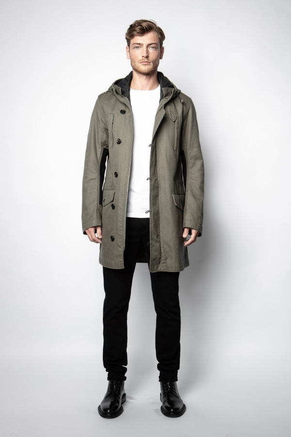 Kim Amo Heavy Cotton Parka