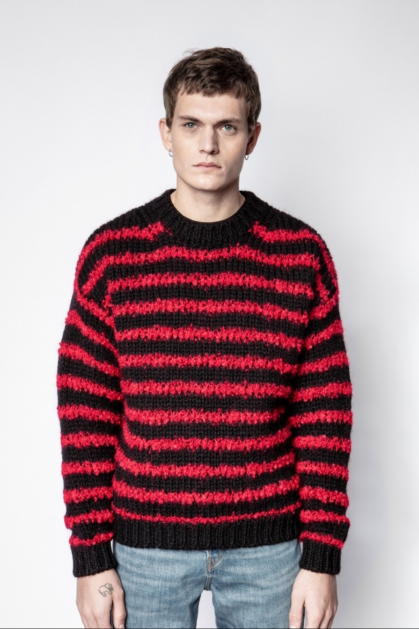 BENNY WOMO STRIPES SWEATER