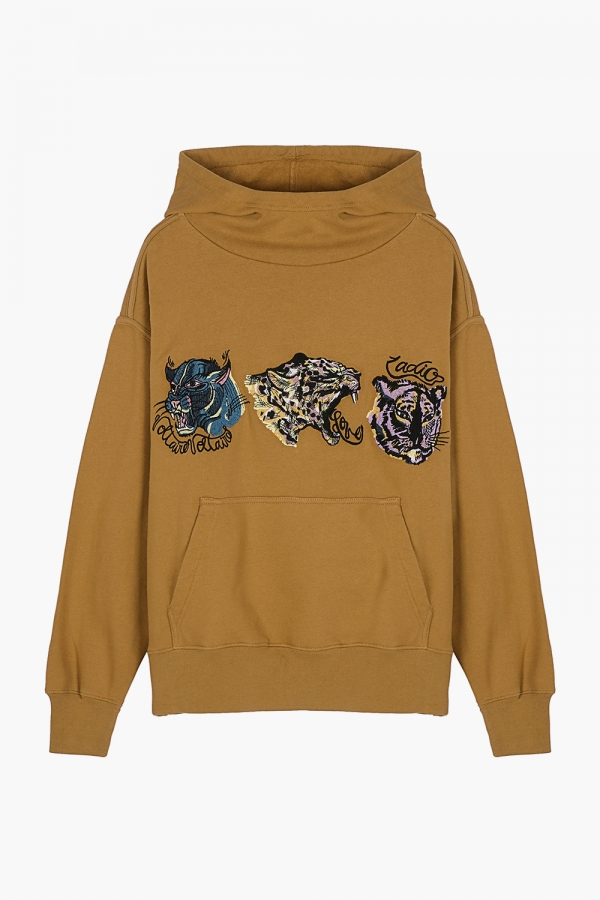Wallace Tiger Heads Sweatshirt