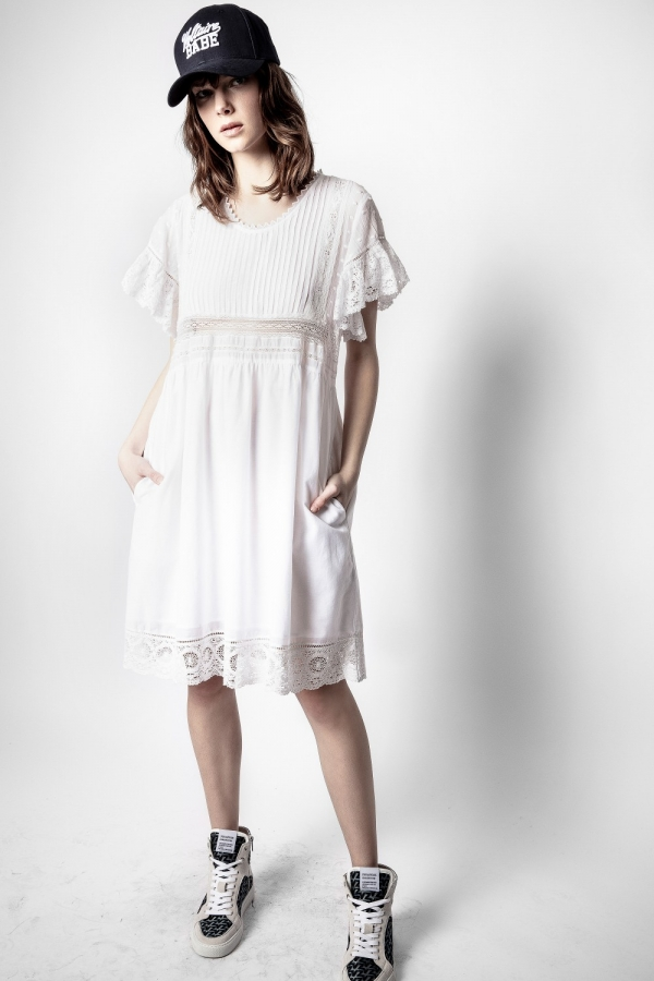 [20%할인]Roll Cotton Dress