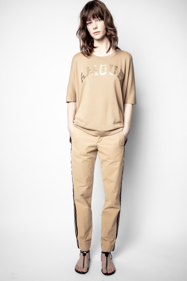 [20%할인]Pomelo Cotton Lave Pants