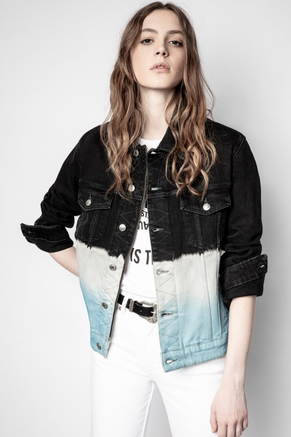 Kase Denim Deep Dye Jacket