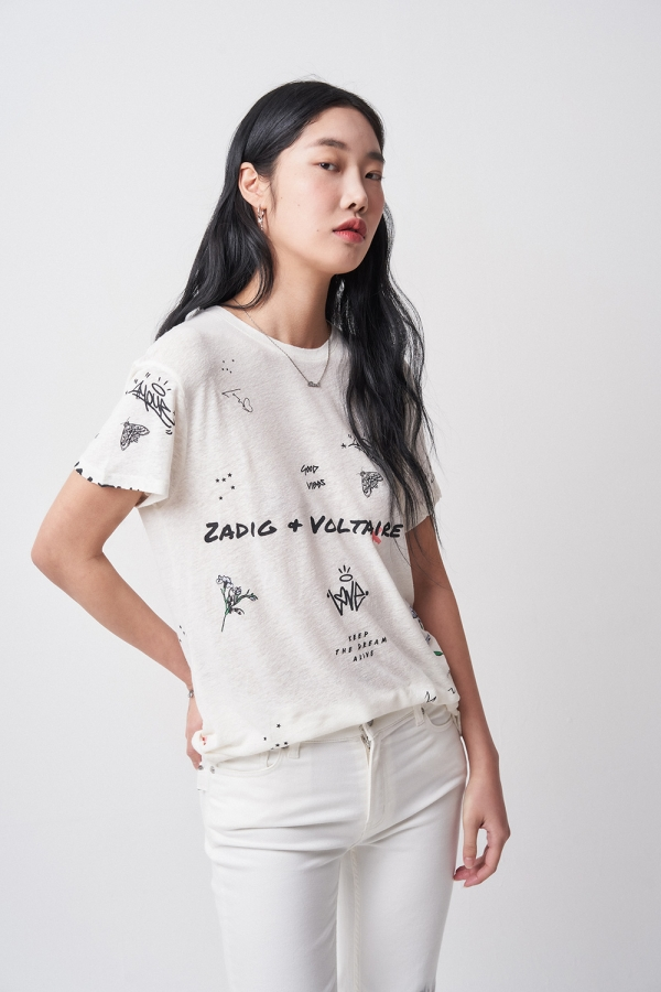 Zoe Tattoo Multitag T-Shirt